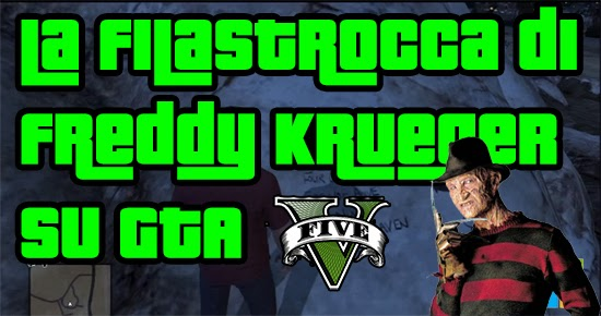 GTA V Segreti - Freddy Krueger (Nightmare)