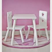 Stolik i krzesełka dla dzieci Kids Concept