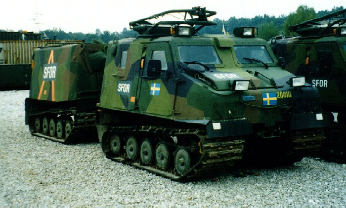 Bv206S Sweden Armoured Personnel Carrier