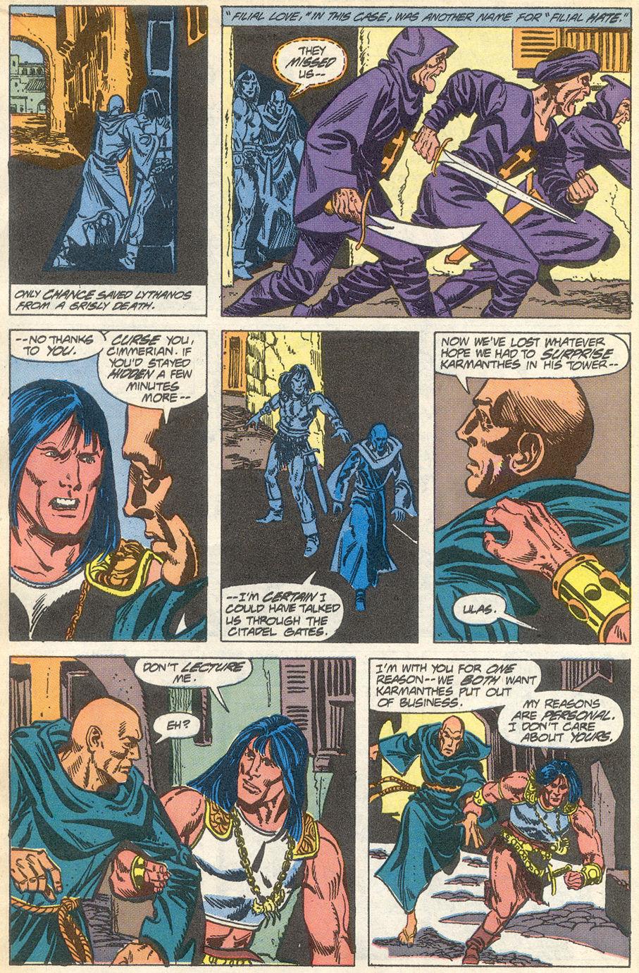 Conan the Barbarian (1970) Issue #231 #243 - English 5