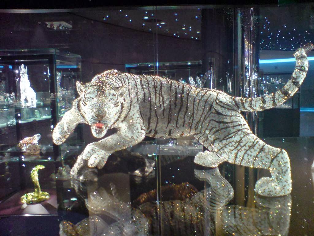 Luxury Life Design Glamorous History Of Swarovski Crystals