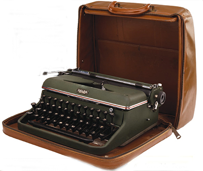 Ernest hemingway typewriter
