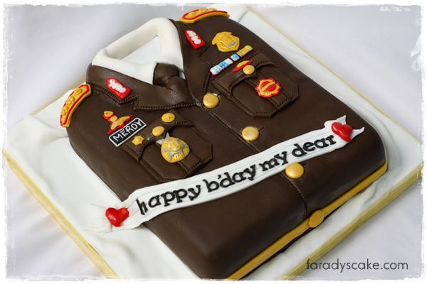 Police Birthday Cake Ideas