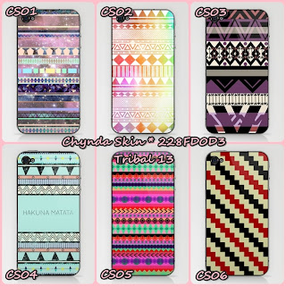 Chynda Shop by Suci Nanda: Garskin Skin Protector Tribal Edition