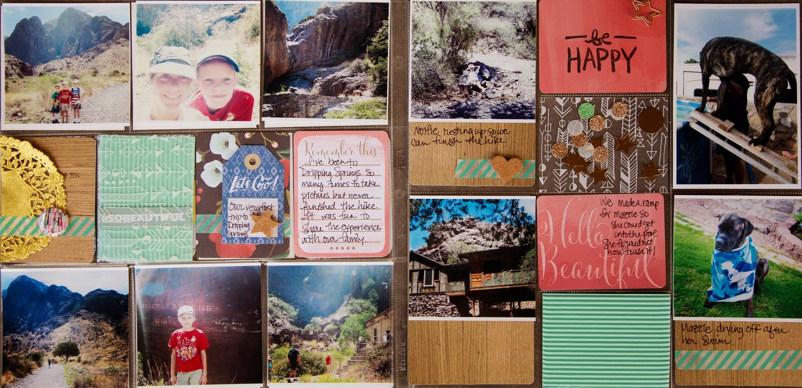 Week 29, @cliquekits, @mariahh, #ckglamcamp, #cliquekits, #scrapbooking, #DIY, #projectlife