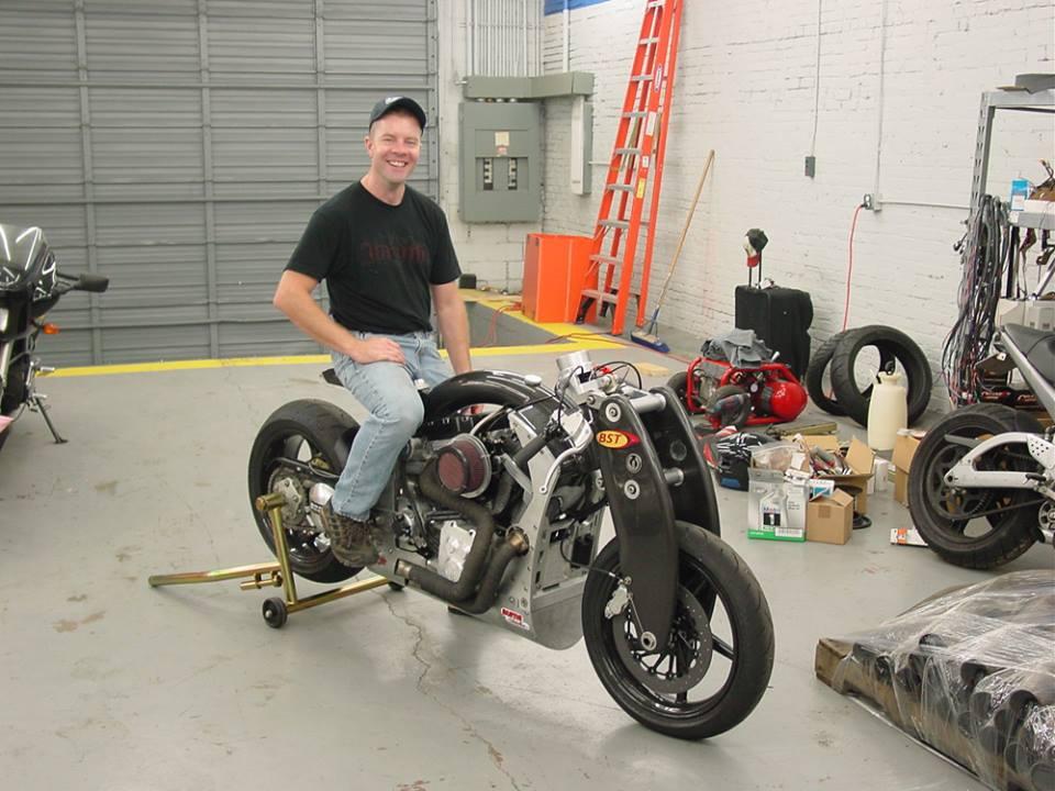 Confederate Wraith B120 Bonneville Motorcycle