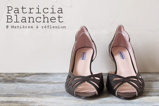nouvelle collection Patricia Blanchet Escarpins Findouce noir