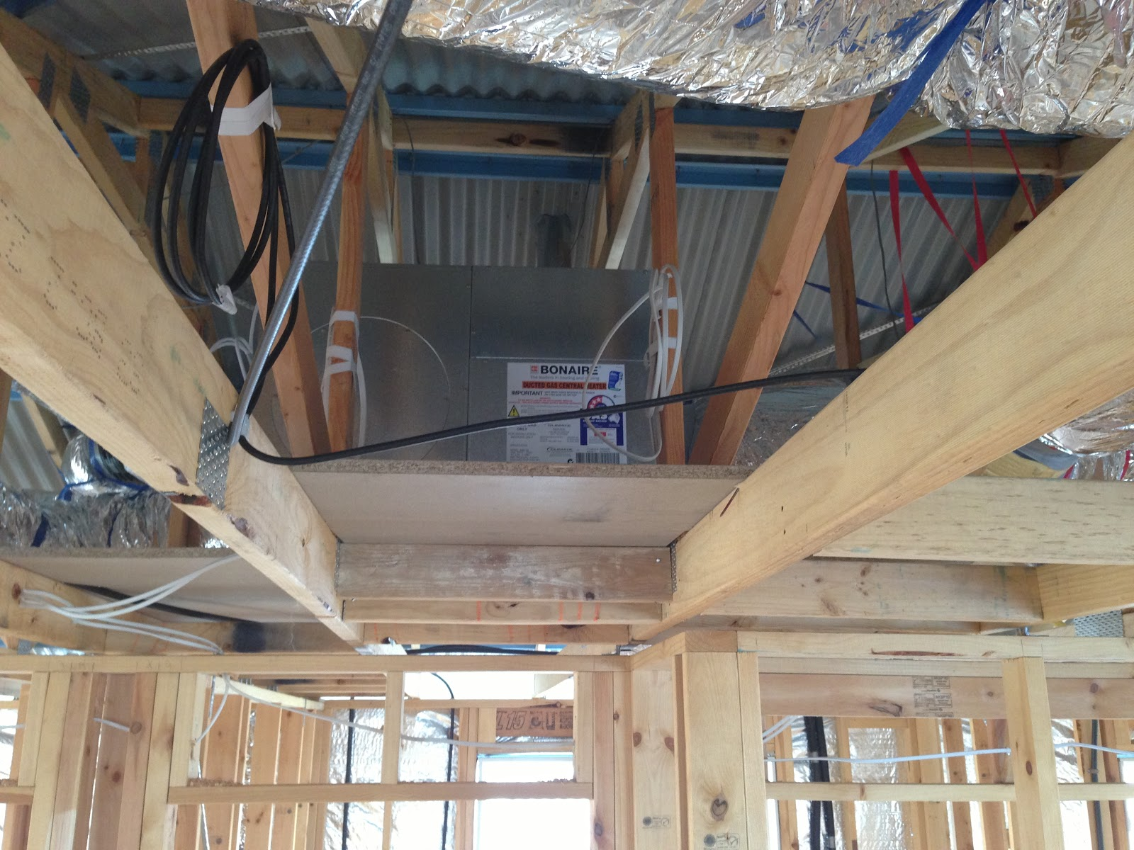 Metricon - Winchester 28 : (Day 63): Ducted Central heating system ...