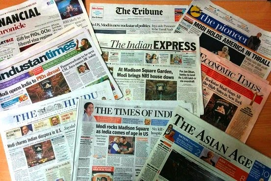 Image result for indian news papers