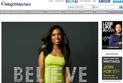 WeightWatchers Homepage