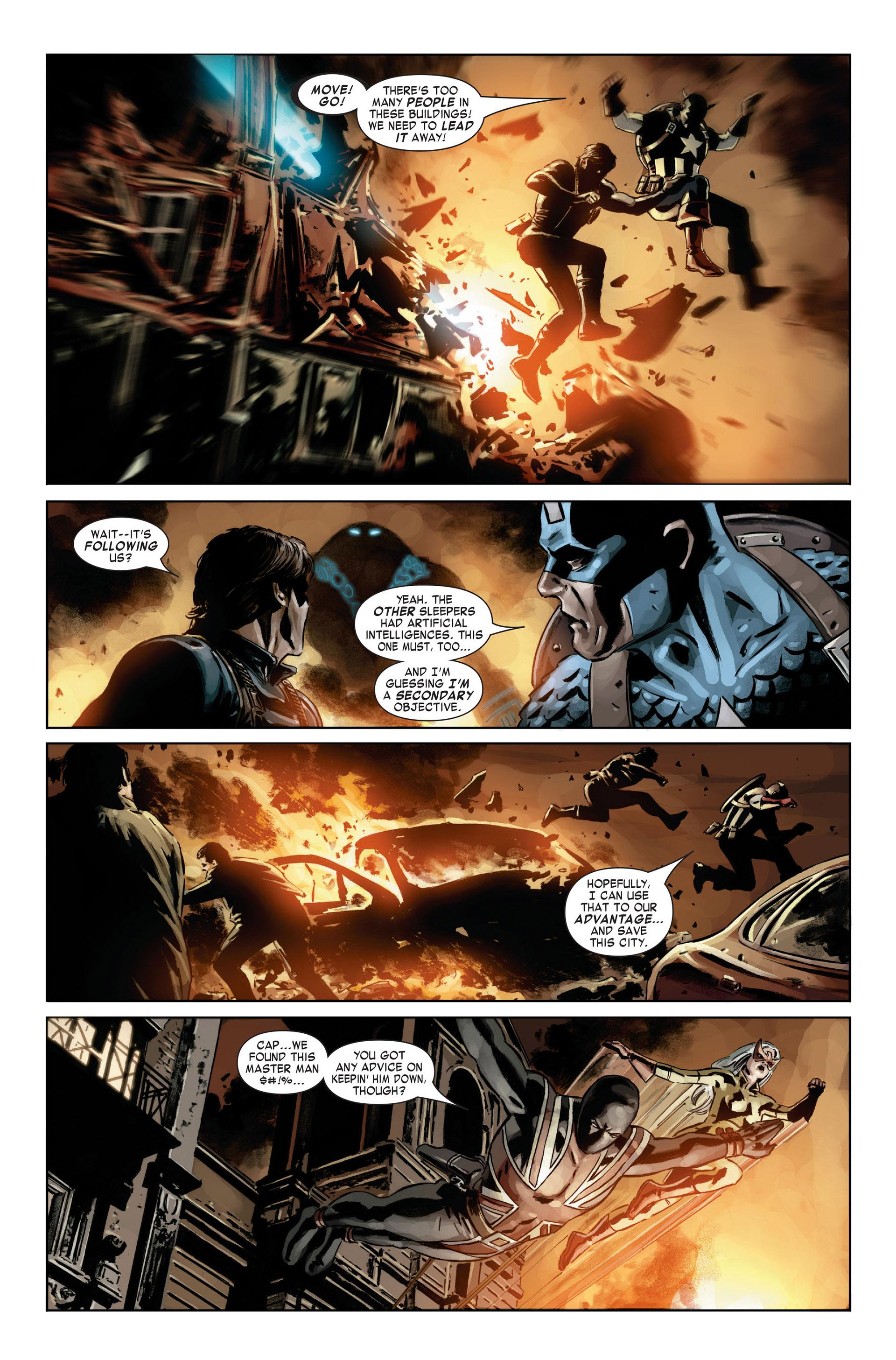Captain America (2005) Issue #21 #21 - English 10