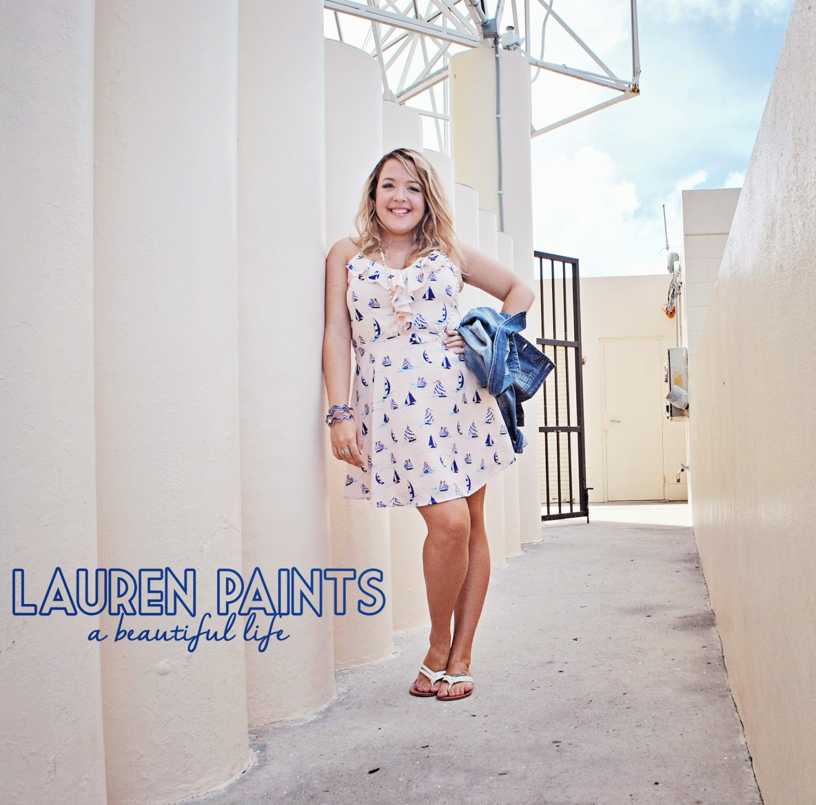Pin Up Darling OOTD and Lauren Paints | a beautiful life outfit giveaway - Back to School with Class & Curves - Six Simple tips to help you dress confidently