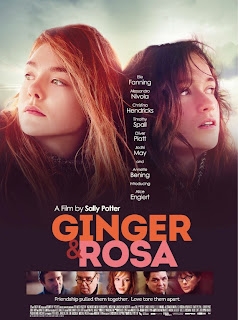 """Poster do filme """"Ginger & Rosa"""""""