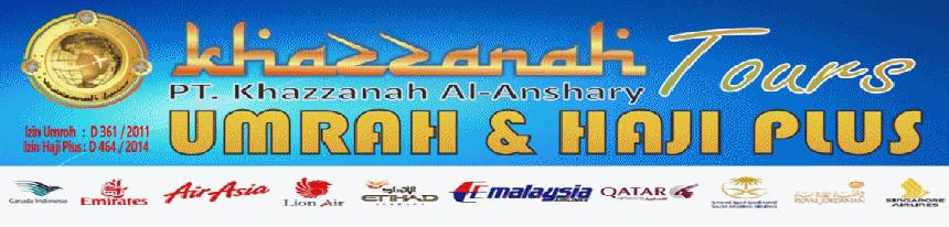 Khazzanah Tours (PT. Khazzanah Al-Anshary): Travel Umroh Murah Jakarta