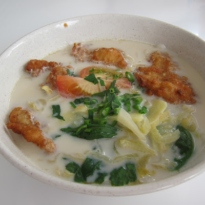 Fried Fish Bee Hoon Soup