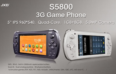 JXD S5800 Ponsel Android Keren Khusus Gamers