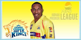 IPL CSK Squad Team Profile and Dwayne Bravo IPL Records and Wallpapers