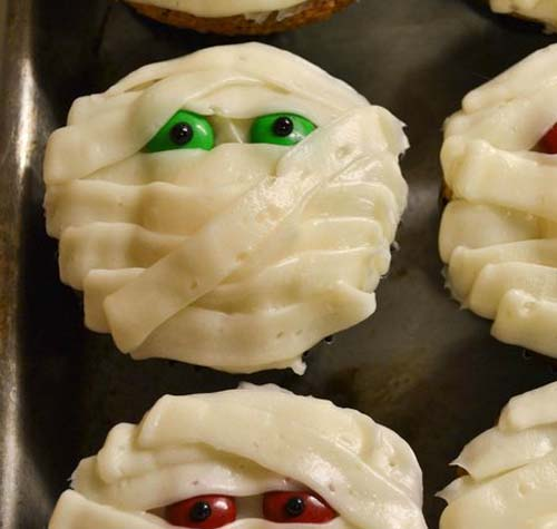 Fun Mummy Cupcakes
