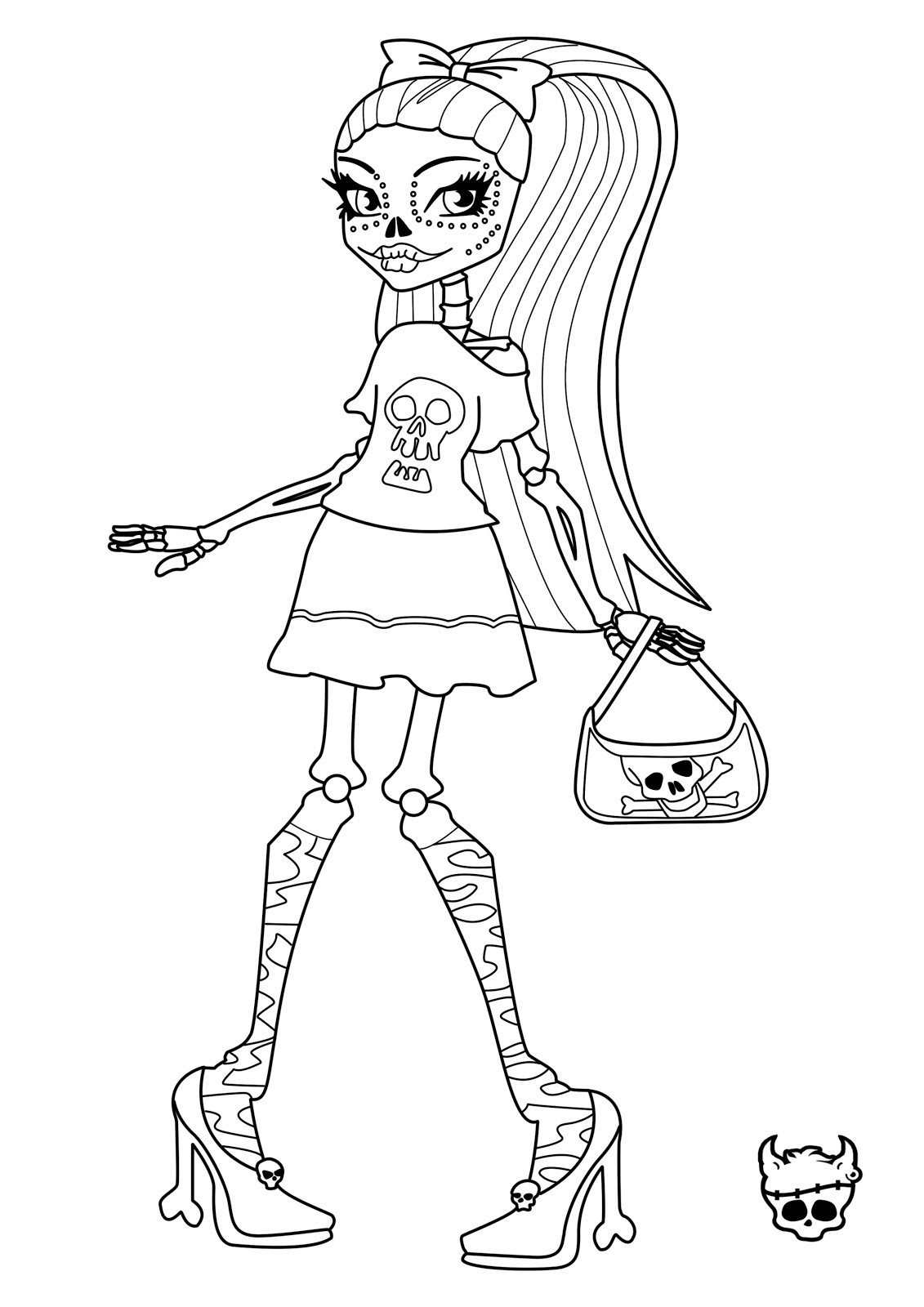 Delighted 100 Template Small 12 Page Booklet Template Clean 2 Column Notes Template 2 Page Resume Header Old 2003 Excel Templates Fresh2007 Powerpoint Templates Unique Comics Animation: Ultimate Monster High Coloring Pages