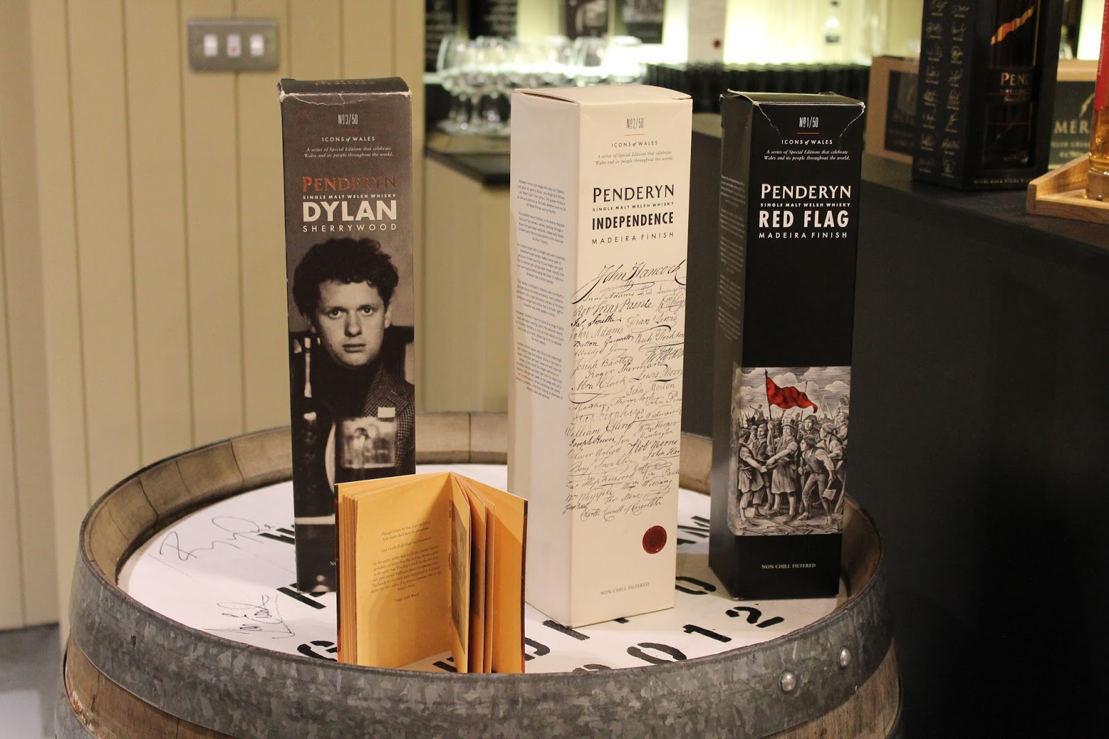 Special Penderyn Whisky Bob Dylan