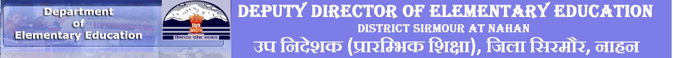 Deputy Director of Elementary Education