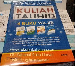 Buku : Kuliah Tauhid, 4 Buku Wajib : Ust Yusuf Mansur