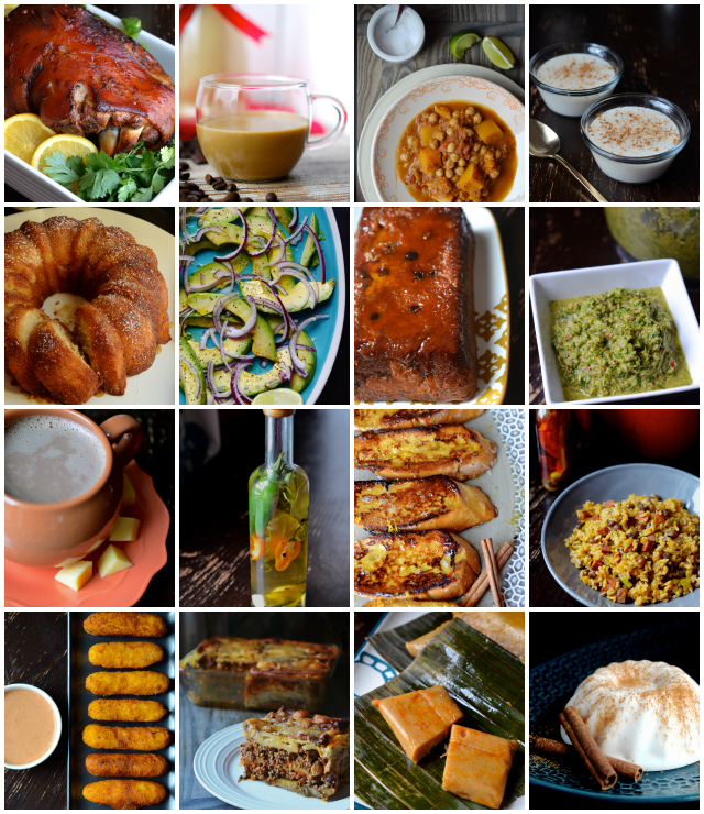 The puerto rican christmas table ecookbook always order dessert a few of the recipes included in this ebook forumfinder Images