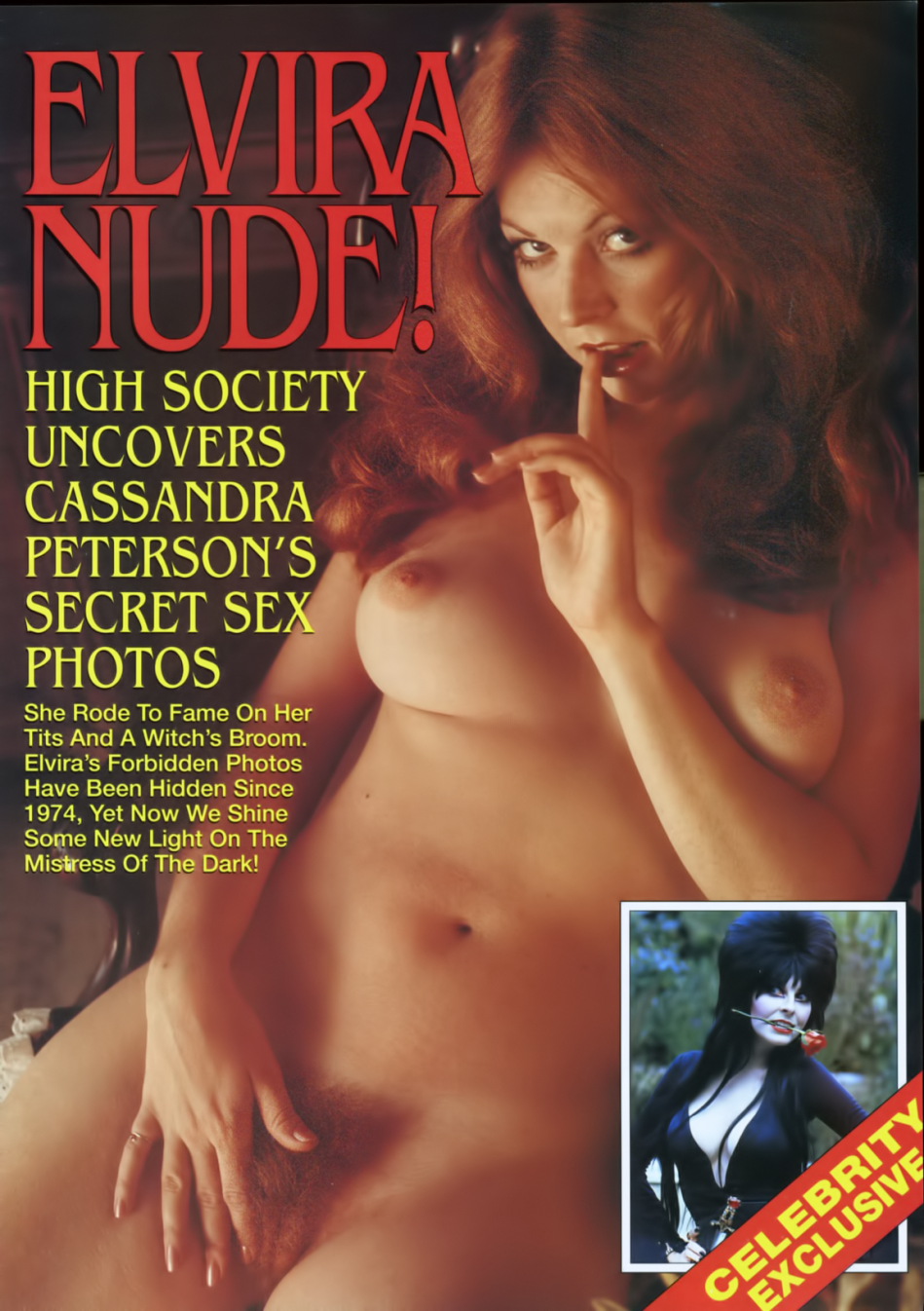 mistress Dark nude elvira