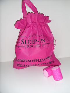 Sleep Rollers - velcro rollers - big hair - volume - review - results