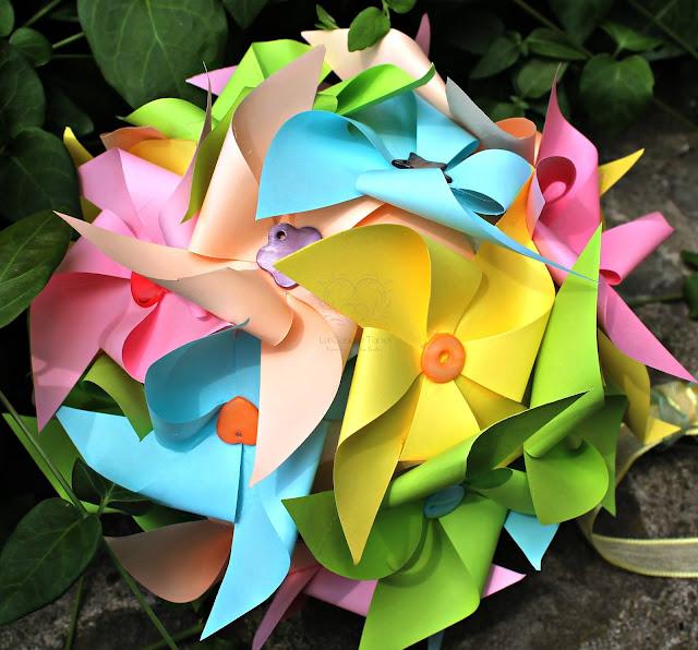 bouquet matrimonio a tema girandole