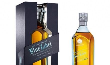 Obsequia a tu enamorado con una botella de whisky Johnnie Walker Blue Label