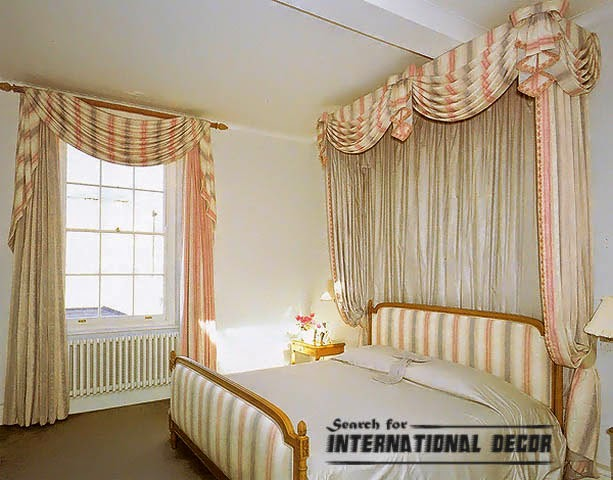 striped curtains,bedroom curtains,window treatments,bedroom curtain ideas