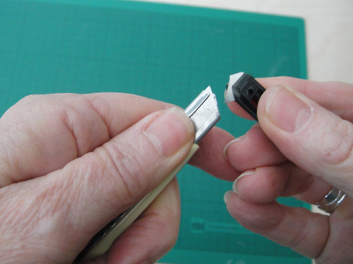 Cutting Paper With A Scalpel 1