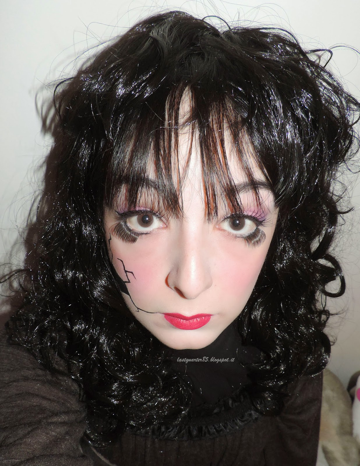 Make Up Halloween: Broken Doll.