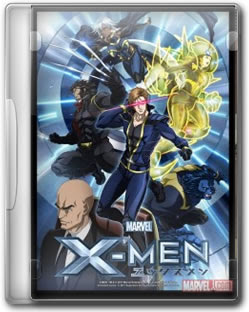 Anime X men 2011 Legendado