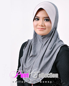 TUDUNG DENIM PUFF