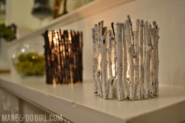 #T21 DIY: Velas con Trocitos de madera