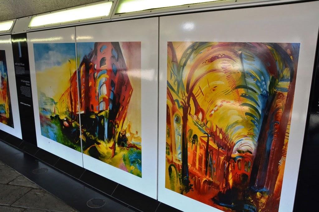 Gaffiti London metro