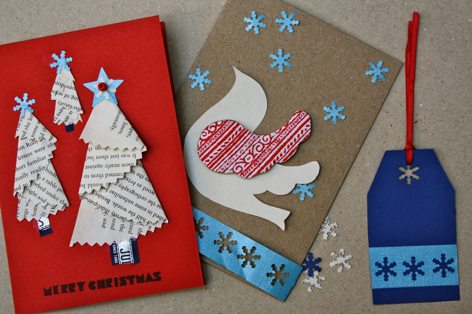 Handmade christmas cards part one mrs fox 39 s life home for Handmade christmas cards