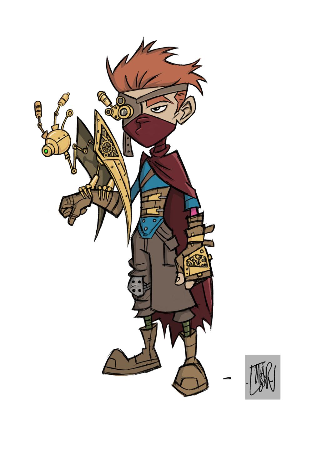 Character Design Vancouver : Marlon deane art character design