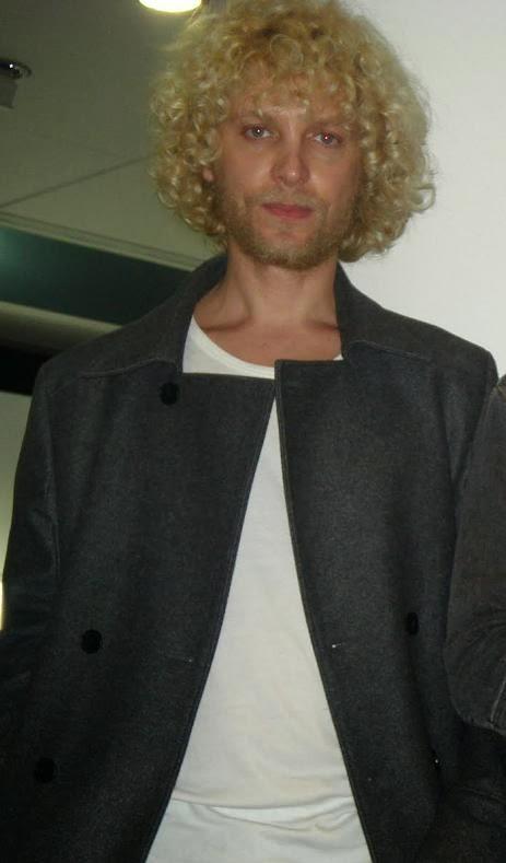 Greek model Alex Kavadias