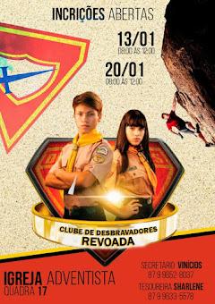 CLUBE DE DESBRAVADORES REVOADA - IASD ( Quadra 17- Petrolândia - PE
