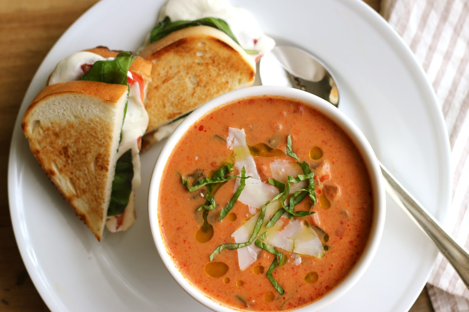 Classic Grilled Cheese + Cream Of Tomato Soup Recipes ...