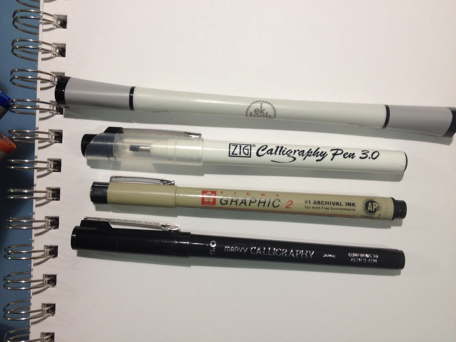 Target art supply review ek tools calligraphy pen set and e k