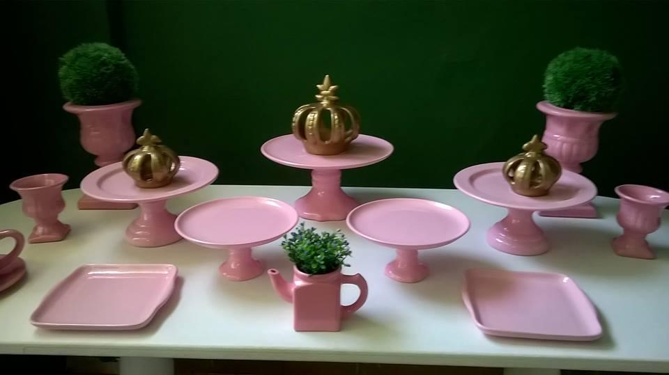 Porcelanas rosas para loca o amoo festas e proven al for Marcas de vajillas de porcelana