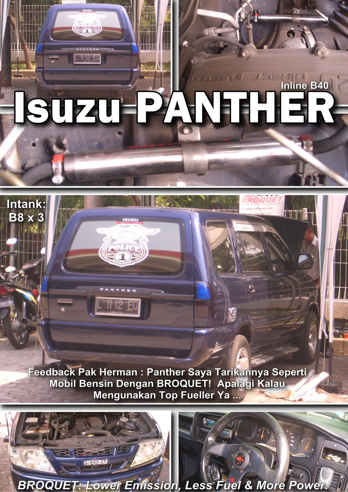 ... , KOMUNITAS ISUZU PANTHER: Membuat Panther Bertenaga Dan Irit 57.5%