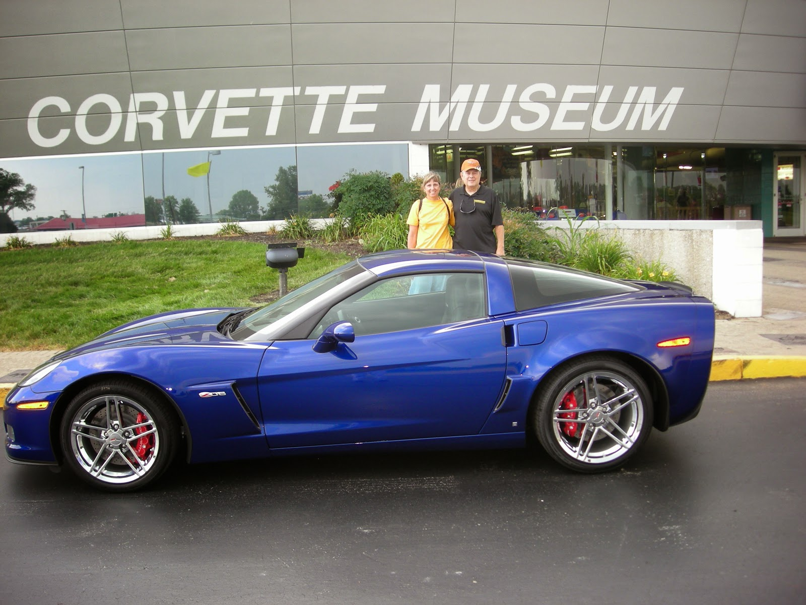 national corvette museum 2007 z06 donated to museum. Cars Review. Best American Auto & Cars Review