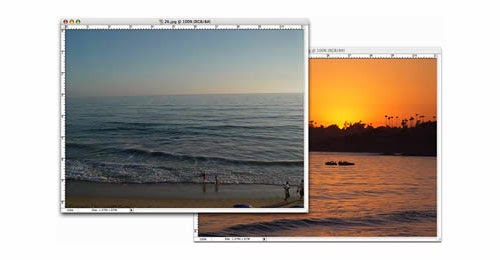 Creating a Sunset Effect in Photoshop Tutorial
