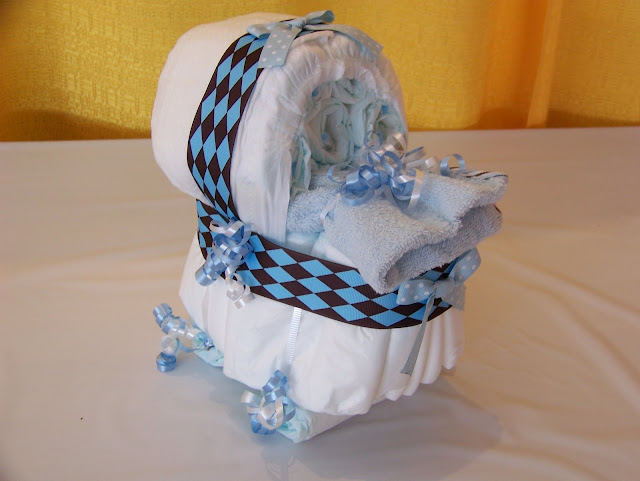 Bassinet Diaper Cake4