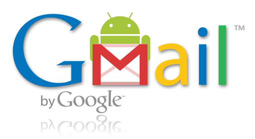 Gamil and android logo